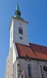 Cattedrale di St Martin (1452). Bratislava, Slovacchia Fotografia Stock Libera da Diritti