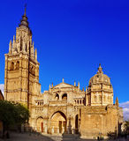 Cattedrale di St Mary di Toledo, Spagna Immagine Stock Libera da Diritti