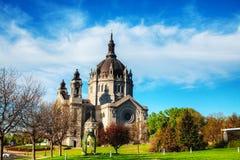 Cattedrale di St Paul, Minnesota fotografia stock libera da diritti