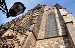 Cattedrale di St Peter e di St Paul, Brno, repubblica Ceca, Europa Immagini Stock