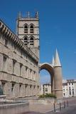 Cattedrale di St Peter a Montpellier Immagine Stock Libera da Diritti