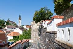 Cattedrale di St Stephen, Litomerice, Boemia, repubblica Ceca Fotografia Stock Libera da Diritti