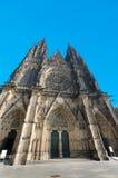 Cattedrale di St.Vitus, castello di Hradcany Praga Immagini Stock Libere da Diritti