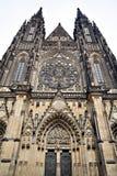 Cattedrale di St.Vitus a Praga Immagine Stock