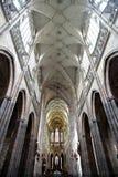 Cattedrale di St.Vitus a Praga Fotografie Stock