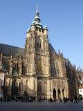 Cattedrale di St.Vitus a Praga Fotografia Stock Libera da Diritti
