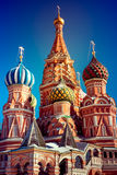 Cattedrale di StBasil a Mosca Immagini Stock Libere da Diritti