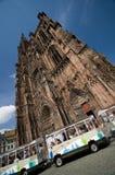 Cattedrale di Strasburgo fotografia stock libera da diritti