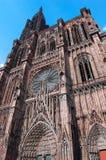 Cattedrale di Strasburgo Fotografie Stock