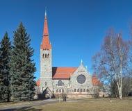 Cattedrale di Tampere, Finlandia Fotografia Stock Libera da Diritti