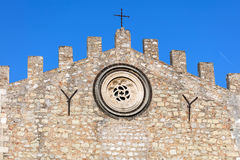Cattedrale di Taormina in Taormina, Sicilia, Italia Fotografia Stock Libera da Diritti