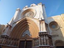 Cattedrale di Tarragona fotografia stock libera da diritti