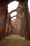 Cattedrale di Tartu, Estonia, più presto come cattedrale di Dorpat immagini stock