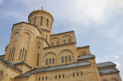 Cattedrale di Tbilisi Sameba Fotografie Stock Libere da Diritti