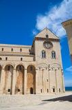 Cattedrale di Trani La Puglia L'Italia Fotografia Stock Libera da Diritti