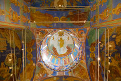 Cattedrale di trasfigurazione in monastero del san Euthymius Suzdal' Fotografia Stock