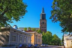 Cattedrale di Turku Fotografie Stock