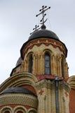 Cattedrale di tutti i san nel paese della Russia. Fotografie Stock Libere da Diritti