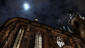 Cattedrale di Tyn Fotografia Stock Libera da Diritti