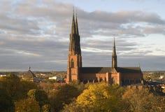 Cattedrale di Upsala fotografia stock libera da diritti