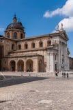 Cattedrale di Urbino fotografia stock libera da diritti