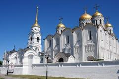 Cattedrale di Uspensky in Vladimir Immagine Stock