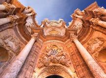 Cattedrale di Valencia Fotografia Stock