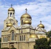 Cattedrale di Varna Fotografia Stock