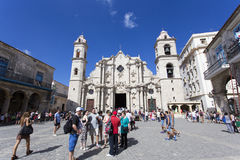 Cattedrale di vergine Maria Immagini Stock