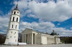 Cattedrale di Vilnius Royaltyfri Bild