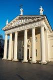 Cattedrale di Vilnius e mattonelle del miracolo Immagini Stock Libere da Diritti