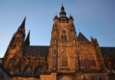Cattedrale di Vitus del san Immagine Stock