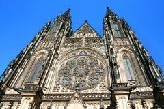 Cattedrale di Vitus del san a Praga Immagine Stock Libera da Diritti