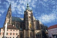 Cattedrale di Vitus del san, Praga Immagine Stock Libera da Diritti