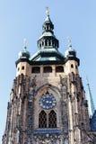 Cattedrale di vitus della st in repubblica Ceca di Praga Fotografie Stock