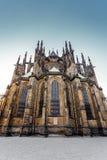 Cattedrale di vitus della st in repubblica Ceca di Praga Fotografie Stock Libere da Diritti