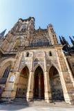 Cattedrale di vitus della st in repubblica Ceca di Praga Fotografia Stock
