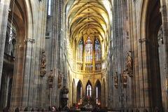 Cattedrale di Vitus, Praga Fotografia Stock