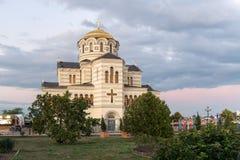 Cattedrale di Vladimirskiy fotografia stock libera da diritti