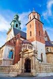 Cattedrale di Wawel Immagine Stock