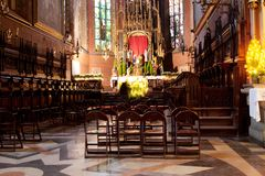 Cattedrale di Wawel a Cracovia, Polonia Fotografia Stock