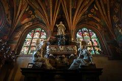 Cattedrale di Wawel, la parte del complesso del castello di Wawel Immagine Stock