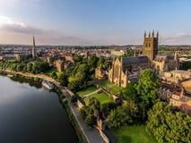 Cattedrale di Worcester Fotografia Stock Libera da Diritti