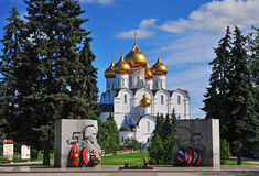 Cattedrale di Yaroslavl Fotografia Stock