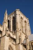 Cattedrale di York in sole Fotografia Stock