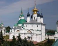 Cattedrale di Zachatievsky Monastero del salvatore di Yakovlevsky, Immagine Stock Libera da Diritti