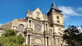 Cattedrale in Dieppe Fotografie Stock