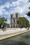 Cattedrale, diga di Notre Immagini Stock Libere da Diritti