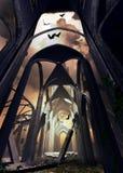Cattedrale distrussa Fotografia Stock