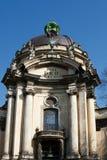 Cattedrale domenicana a Lviv Fotografie Stock Libere da Diritti